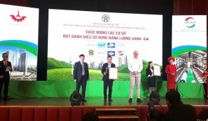mm mega market thang long receives green energy hanoi 2019 title