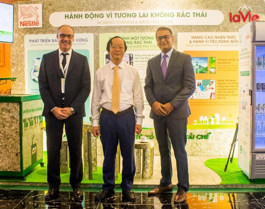 nestle vietnam conferred vietnam environment awards