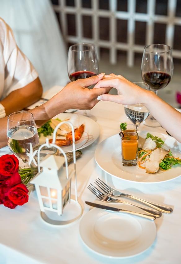 valentines romantic dinner at melia danang
