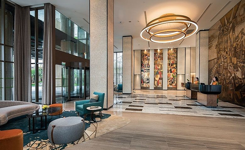 oakwood residence hanoi wins best hotel interior award