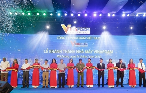 vinafoam builds fire fighting foam concentrates factory in hai duong