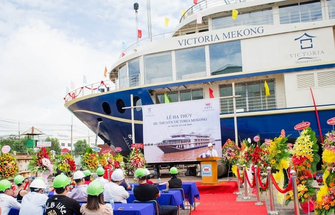 ceremonial launch of victoria mekong
