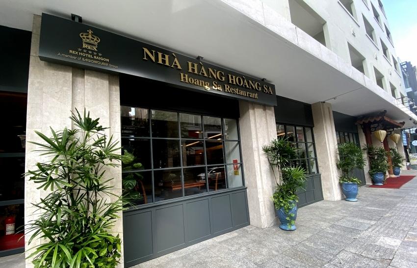 high class services at rex hotel saigon