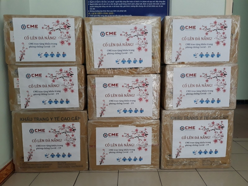 supply donation to the people of danang in prevention of covid 19