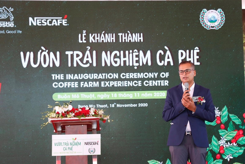 opening of nescafe wasi coffee farm experience center in central highlands
