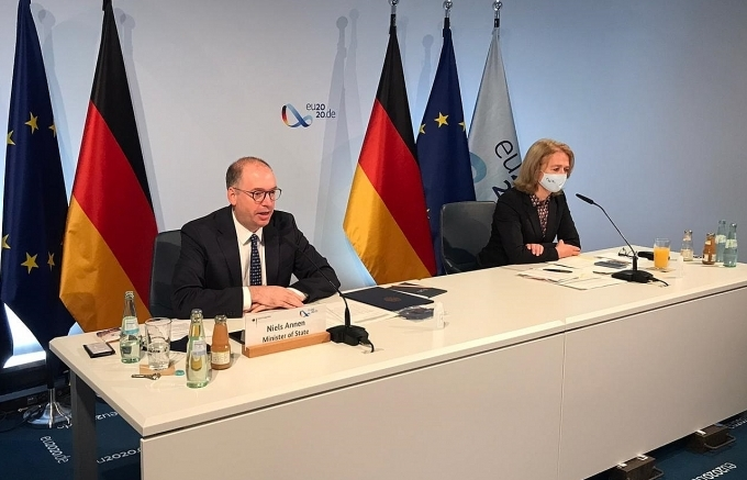 germany will contribute 5 million to the covid 19 asean response fund
