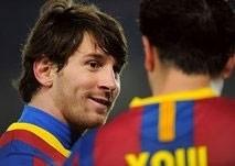 barcelona eye final spot after almeria rout