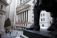 US stocks mostly higher helped by jobs data