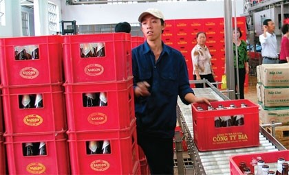 japanese brewers thirst for highly fancied sabeco