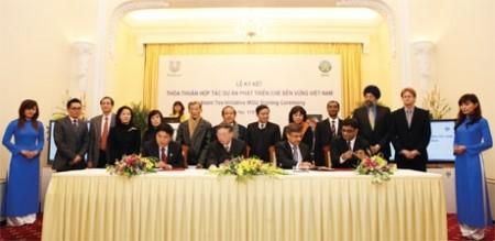 unilever promotes sustainable tea development in vietnam
