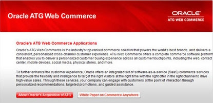American Apparel chooses Oracle's ATG Web Commerce