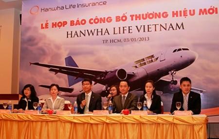 korea life vietnam renamed as hanwha life vietnam