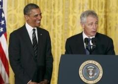 Hagel draws fire as Obama's Pentagon pick