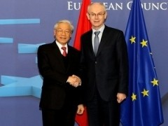 party chiefs eu visit elevates bilateral cooperation
