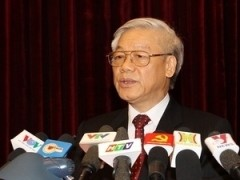 party chief calls for firm faith in countrys future