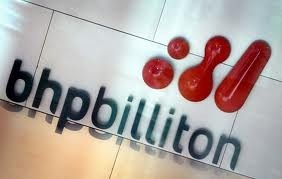 bhp reports iron ore up for half year petroleum on track