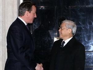 vietnam uk issue joint statement