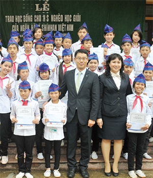 shinhan bank vietnam a champion for education
