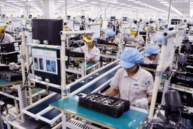 Mobile phones top textiles signalling shift in economy