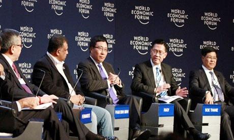 Deputy PM attends WEF Davos 2015