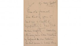 Titanic survivor letter sells for nearly US$12,000