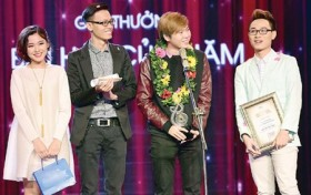 Artists awarded for musical achievements