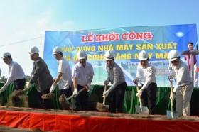 Construction of South Korean garment factory starts in Bac Lieu