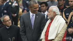 Obama ends India visit with pleas on religion, climate
