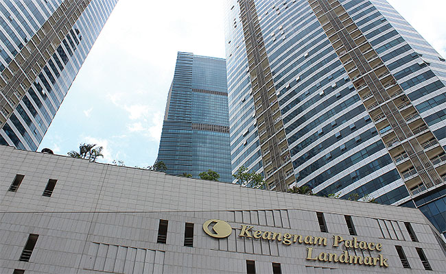 Developer Keangnam Vina refuses to show up in court for disputes with buyers