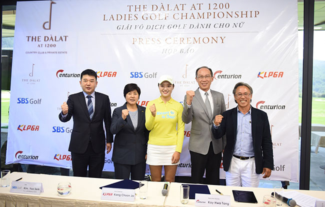 The Dàlat at 1200 Ladies Championship 2016 opens