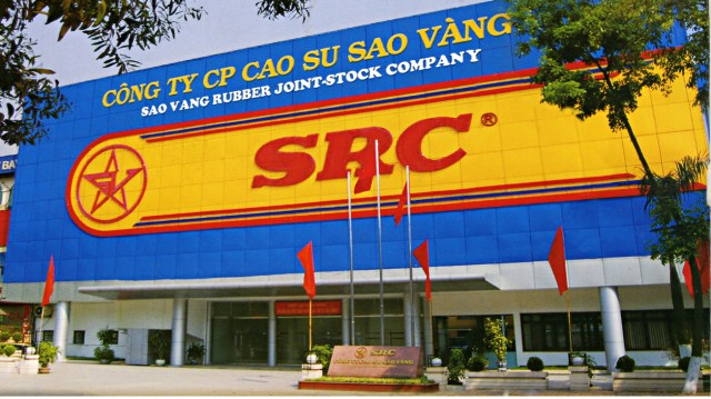 sao vang rubber company falling on hard times