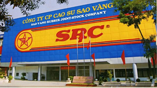 sao vang rubber company falling on hard times