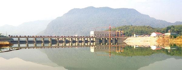 ba thuoc 1 hydropower plant starts idle run