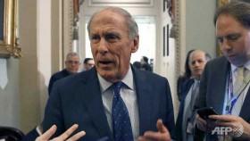 Former senator Coats is Trump's pick for intel chief