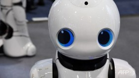 Robots show their 'personality' at CES tech show