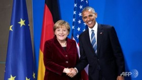 Obama, Merkel say strong US-Germany ties 'essential' for world order