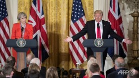 Trump plays down talk of lifting Russia sanctions