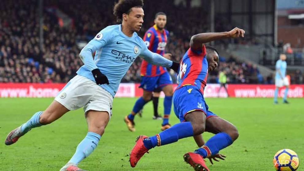 man city winning run ends in draw at crystal palace