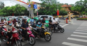 Traffic accidents reduced, but congestion more complicated