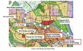 hai phong plans 4 big transport projects