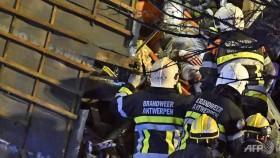 14 injured in suspected gas explosion in belgiums antwerp