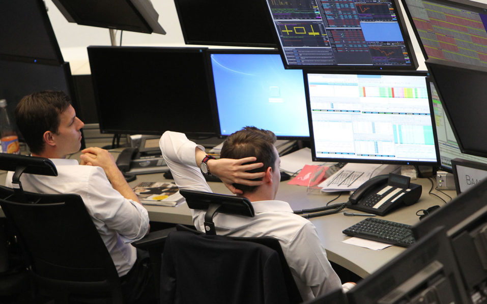 european stocks stutter as dollar weakens