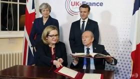 may macron strike border security deal at uk summit