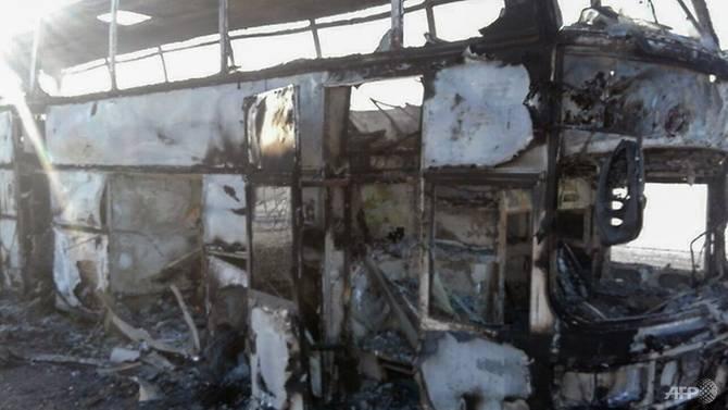 52 people killed in kazakhstan bus fire