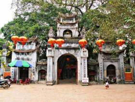 Mother Goddess temple in Hung Yen