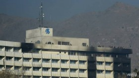 kabul hotel attack toll at least 22 officials