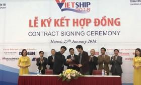 dozen agreements signed at vietship 2018