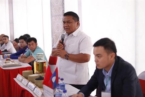 hcm city laos seek measures to boost trade