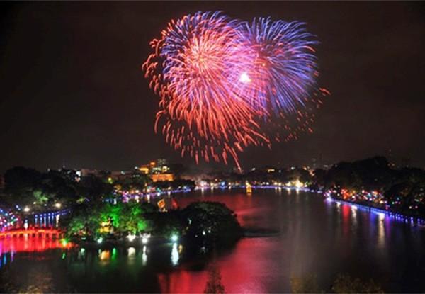 tet firework displays scheduled for hanoi