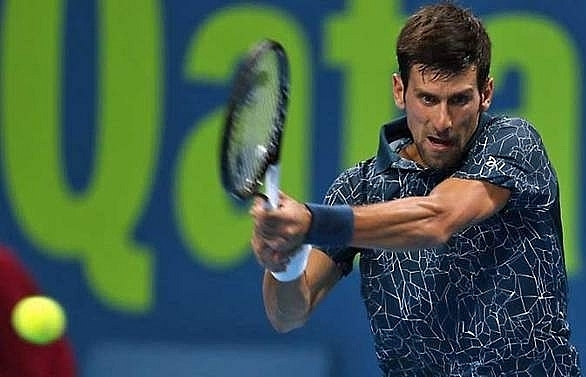 djokovic eases to opening qatar win thiem crashes out
